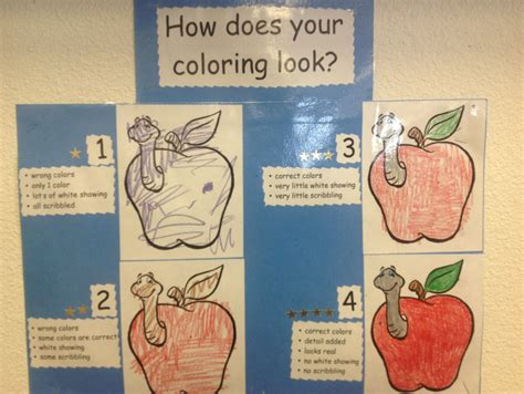 Coloring Rubric by A Coloring Rubric For Clasroom