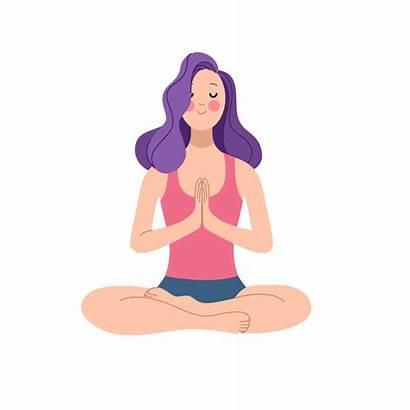 Yoga Pose Poses Illustration Benefits Easy Cartoon