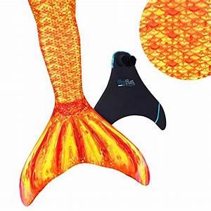 Meerjungfrauen Schwanzflossen Für Kinder : fin fun mermaid tail verst rkte tipps mit monoflosse tropical sunrise gr e kind 12 attenas ~ Watch28wear.com Haus und Dekorationen