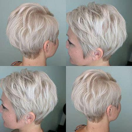 short ash blonde hair short hairstyles
