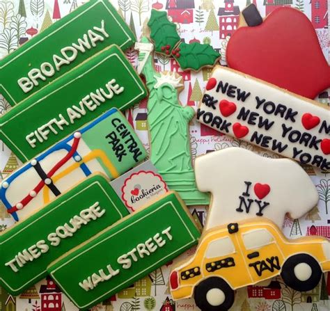 cakes  york city images  pinterest cookies