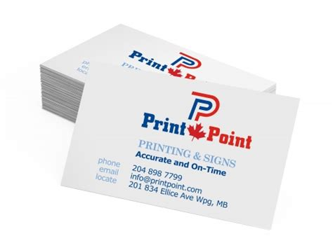 Print Point Canada Business Card Size Aspect Ratio Vs Credit Template Zip Templates For Salon Cards Publisher Free Vistaprint Logo Rustic Online