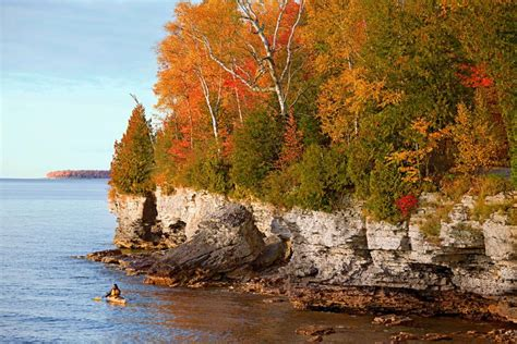 door county wis fall getaway in door county s sturgeon bay midwest living