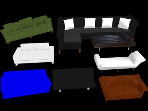 Mmd Couch Pack By Mikimikummd On Deviantart