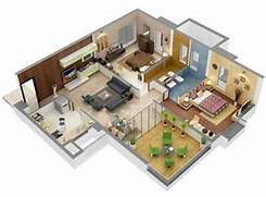 3d Bedroom Design Planner by 13 Awesome 3d House Plan Ideas That Give A Stylish New Look To Your Home