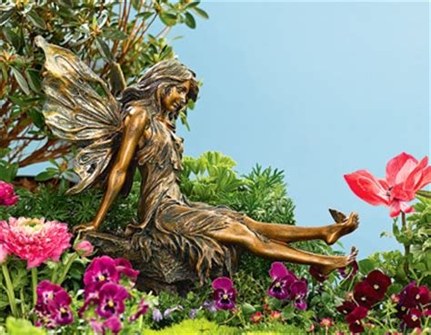 fairies mermaids large garden fairy  butterfly