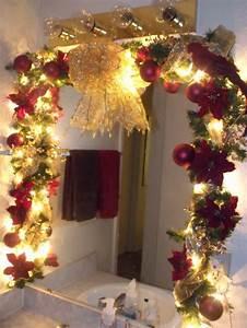 changing seasons easy winter holiday bathroom decor With holiday bathroom decorating ideas