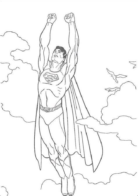 ausmalbilder superman  ausmalbilder zum ausdrucken