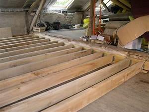 Realiser Un Plancher Bois : renforcer plancher bois existant 17 messages ~ Premium-room.com Idées de Décoration