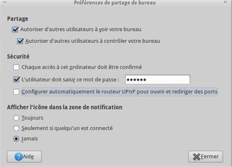 partage de bureau ubuntu administrateur systèmes et réseaux mars 2012