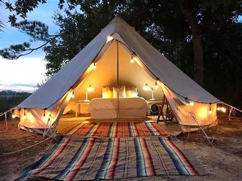 glamping florida fancy camps tent camping luxury state parks rent tripstodiscover twin beds weekend brings favorite north trips credit spots