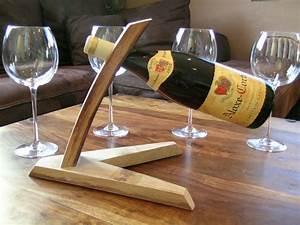 Porte Bouteille Vin : porte bouteille de table porte bouteille design porte ~ Melissatoandfro.com Idées de Décoration