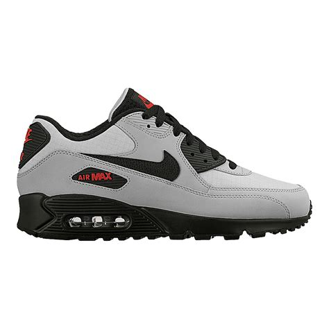Nike Airmax 9 0 nike air max 90 masculino t 234 nis preto vermelho cinza