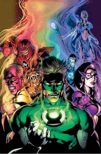 Lantern Dc Comic Poster Comics Blackest Night