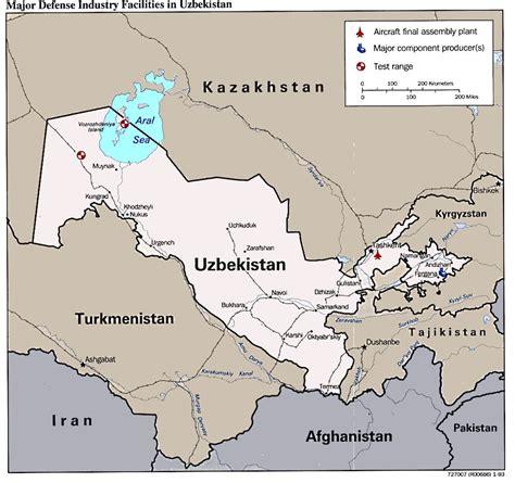 uzbekistan maps
