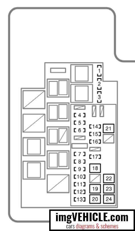 2006 Rav4 Fuse Box by Toyota Rav4 Xa30 Fuse Box Diagrams Schemes Imgvehicle