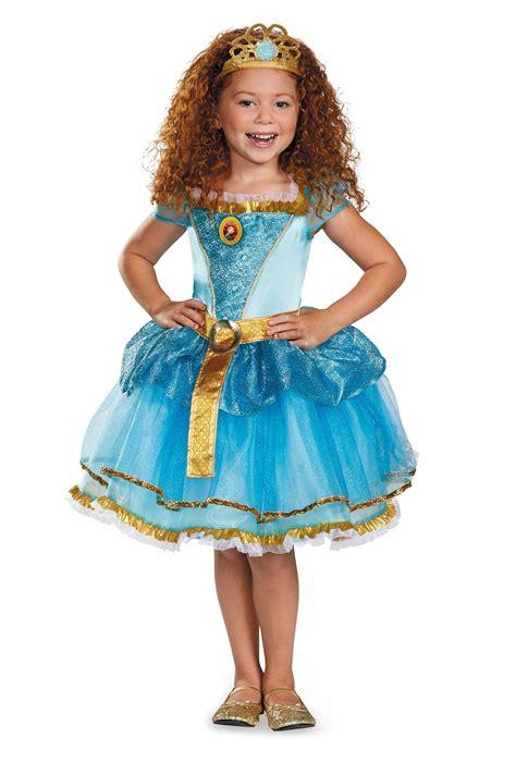 Pixar's Brave Disney Merida Tutu Prestige Child Costume ...