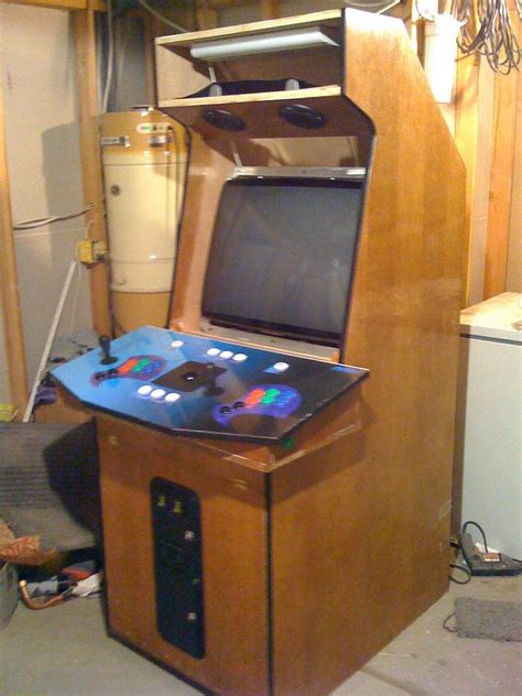 diy arcade cabinet diy mame cabinet gt http www instructables id my