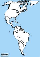 leere karte der topographie von amerika