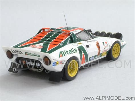 Lancia Stratos HF 1976 Monte Carlo Winner (No.10) (ミニカー) 商品画像3