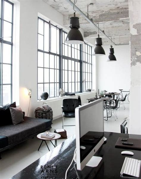 interior design industrial offices with an industrial interior design touch Office