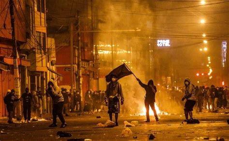 muere manifestante de peru en segunda marcha contra manuel