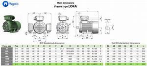 132m B34a Right Iec Electric Motor