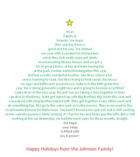 christmas letter shaped   christmas tree
