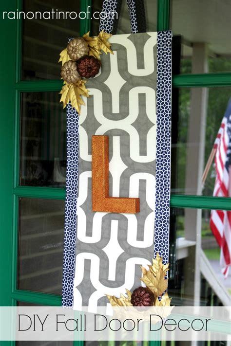 diy door decor diy fall door decor my take on the fall wreath