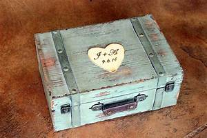 wedding card box trunk wine love letter ceremony With wine and love letter box