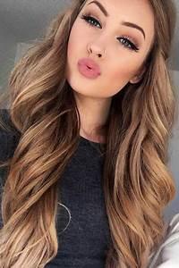 Light Brown Hair Colors Summer Hair Color Caramel, Lips ...