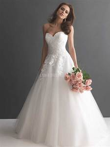 5 styles of classic wedding dresses for Wedding dress cuts