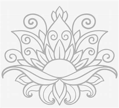 Mandala Lotus Flower Svg Transparent Nicepng Cricut