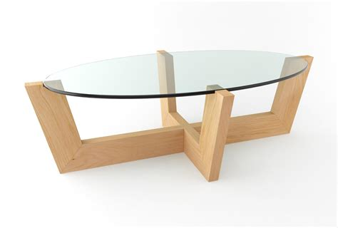 Coffee Table Glass Top Wood Base  Coffee Table Design Ideas