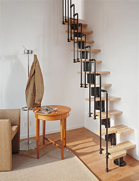 Spacesaver Staircases by Karina Loft Stairs Loft Staircase Canada Modular Stairs