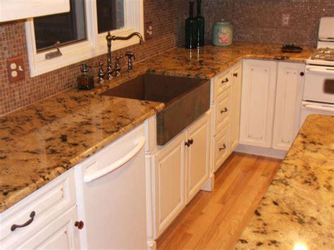 Copper Farm Sink In White Kitchen  Traditional Kitchen