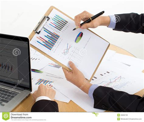 Review The Report Royalty Free Stock Image - Image: 26695736