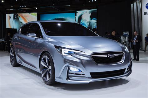 Subaru Car : Subaru Previews 2017 Impreza With 5-door Concept In Tokyo