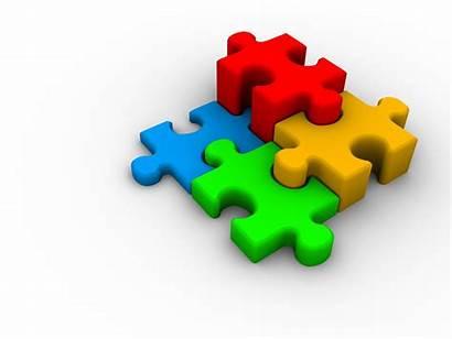 Puzzle Autism Clipart 3d Child Pieces Worried