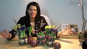 Frühlingsdeko Aus Naturmaterialien Selber Machen : fr hlingsdeko mit powertex naturmaterialien und fr hlingsblumen youtube ~ Eleganceandgraceweddings.com Haus und Dekorationen