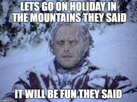 The Shining Meme - jack nicholson the shining snow memes imgflip
