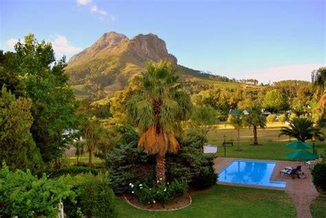 hotel chambre fumeur orange ville guesthouse stellenbosch afrique du sud