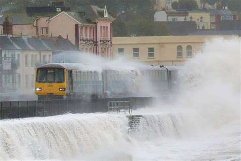 Storm Callum Weather Live Flood Warnings Issued As Uk