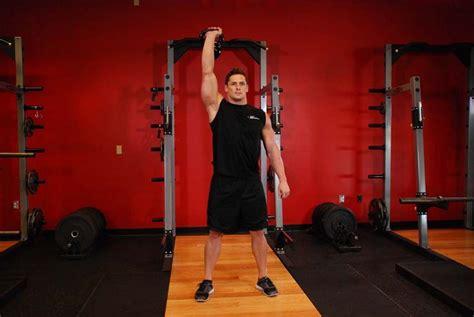 kettlebell jerk clean bodybuilding gym benefits