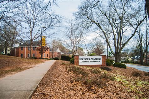 anderson university top  college