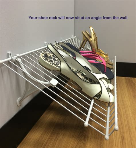 Installing Closetmaid Shelving by Closetmaid Shoe Rack Installation