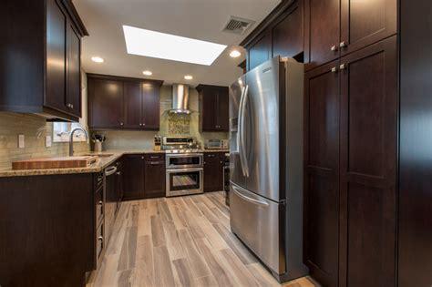 raised ranch kitchen transitional kitchen bridgeport