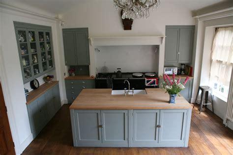 mirrored side handpainted georgian kitchen kitchens home