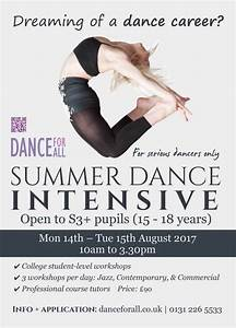 Summer Dance Intensive 2-day workshop Edinburgh - Dance ...
