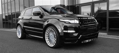 land rover evoque black modified rangerover evoque by hamann 5 door widebody tuning